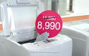 HomePro Campaign Surreal Sale Washing Machine