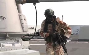 NATO's Counter Piracy Flagship Tests Readiness