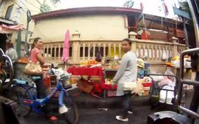 Passing by life in Bangkok