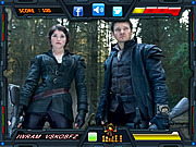 Hansel and Gretel Witch Hunters-Find the Alphabets