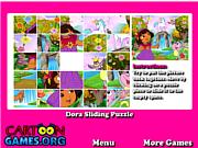 Dora Sliding Puzzle
