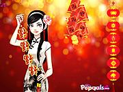 Chinese Spring Festival Dress Up