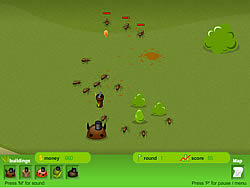 Backyard Buzzing Game - Play online at Y8.com