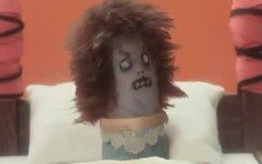 Chupa Chups Campaign: Get Lolli Exorcist Horror