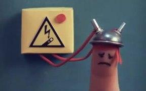 Chupa Chups: Get Lolli Electrocution Horror