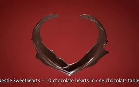 Nestle Campaign: All I Want is Chocolate Heart