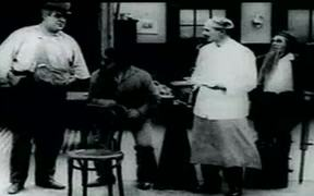 "Charlie Chaplin's ""Behind The Screen"""