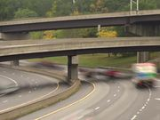 Layered Highway Time Lapse