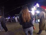 Crowded Richmond Night Market