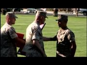 Marine Receives Navy Cross