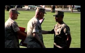 Marine Receives Navy Cross