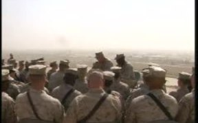 CMC and Sgt. Maj. Visit Their Marines
