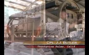 Marines Go Through Rollover Training