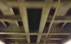 Under a Fast Moving Train Video