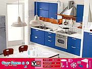 Modern Blue Room Hidden Objects