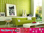 Modern Green Room Hidden Objects