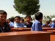 Marines Help Afghan Kids Get New Desks