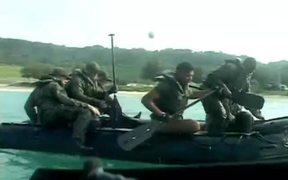 Marines Tackle Coxswain Course