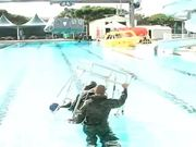 Marines Go Through Helo Dunker