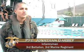 Marines Go Through Helo Dunker