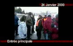 The Strike Line Sur La Ligne