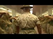 Drill Instructor Makes Marines