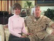 Commandant Speaks to Families