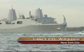 USS New York Arrives