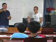 Marines Teaching English to Koreans