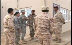 Marines Teach Iraqi Soldiers First Aid