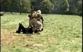 Marines Use Non-lethal Force During Demonstration