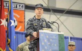 Vermont National Guard Deployment Ceremony