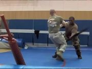 A Sailor Recertifies with Marines