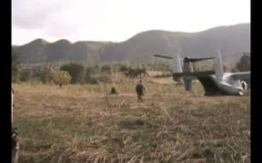 Osprey's First Humanitarian Mission