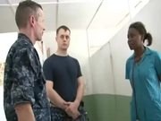Commander Carrier Strike Group 1 Visits Haiti