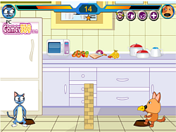 Play Cat Vs Dog Game Here - A Fighting Game on FOG.COM