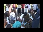 Marines Treat Injured and Sick Local Haitians