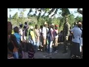 Marines Treat Injured and Sick Local Haitians