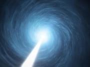 Artists impression of the quasar 3C 279