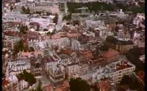 Unique Aerial View of Munich 1945