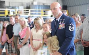 Awarding Silver Star to New Jersey National Guard