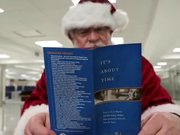 Santa Clause Joins Global Entry
