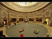 Time-lapse of Rotunda Floor & Art Protection 2015