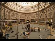 Time-lapse of Rotunda Floor & Art Protection 2015