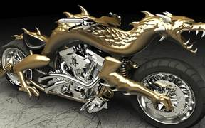 Orange County Choppers - Dragon Head