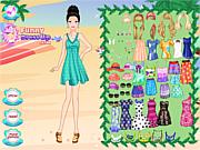 Summer Seaside Girl