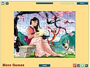 Princess Mulan Jigsaw