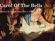 Carol Of The Bells 2