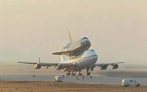 Space Shuttle Carrier Aircraft Takeoff and Landing