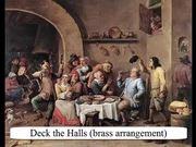 Deck the Halls brass Arrangement